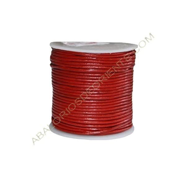 Cuero 1 mm Rojo 159
