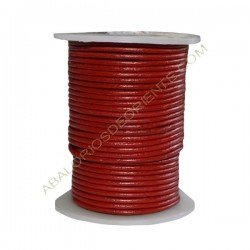 Cuero 2 mm Rojo 159