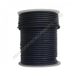 Cuero 2 mm Azul marino 127