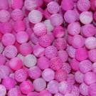 Ágata natural Effloresce 10 mm rosa