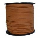 Cordón de ante café 3 x 1.5 mm