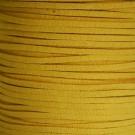 Cordón de antelina mostaza 3 x 1.5 mm