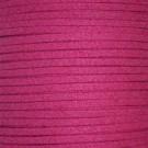 Cordón de antelina fucsia 3 x 1.5 mm