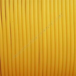 Cordón de caucho hueco amarillo