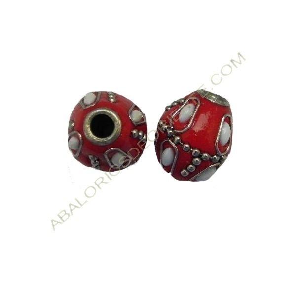 Bola de Indonesia rombo rojo