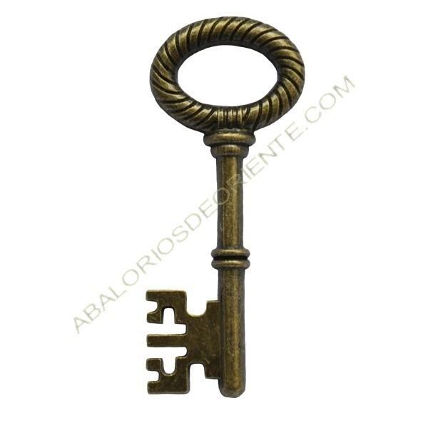 Colgante llave