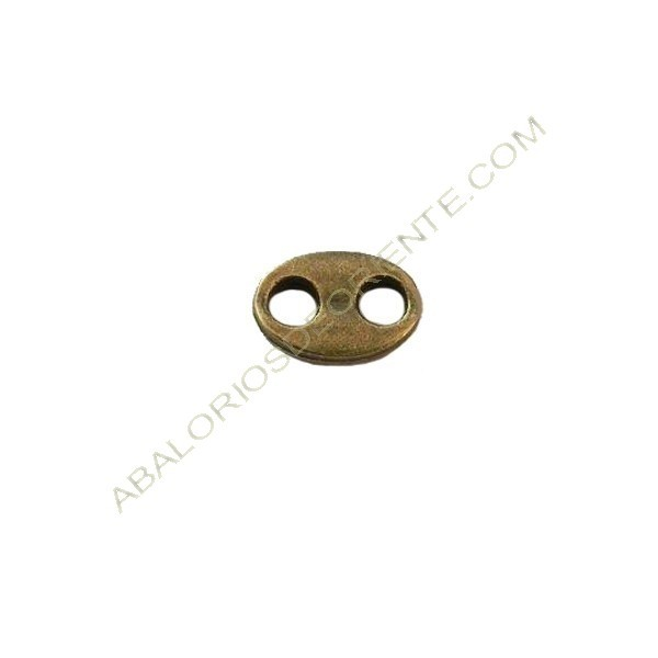 Calabrote bronce 10 x 7 mm
