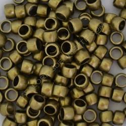 Entrepieza tonel bronce de 6 x 7 mm