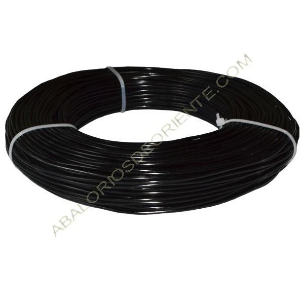 Hilo de alumino de color negro 2 mm