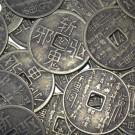Monedas chinas 40 mm