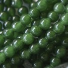 Jade verde bola 8 mm