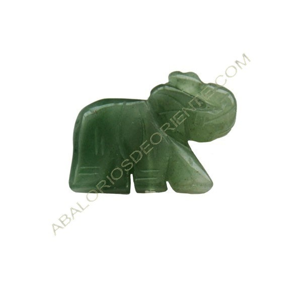 Elefante de Jade verde