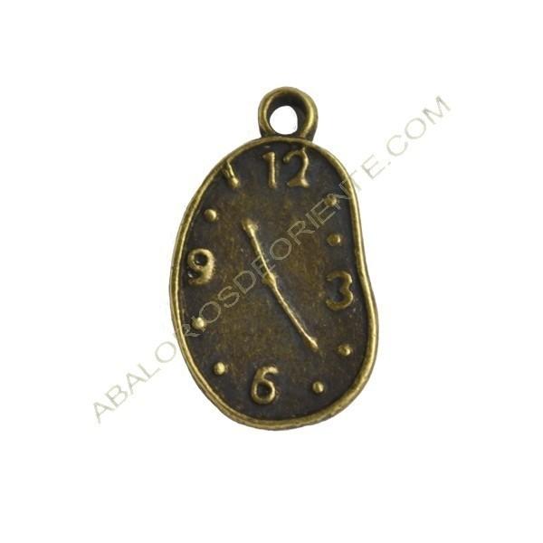 Colgante de Zamak reloj Dalí