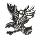 Colgante águila plateado