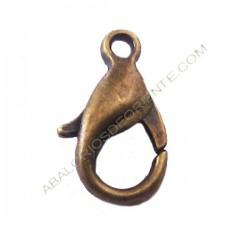 Mosquetón de aleación de Zinc bronce 12 mm