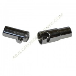 Cierre magnético tubo con seguro Acero inoxidable