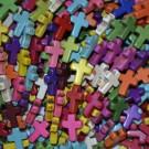 Cruz latina variada 16 x 12 mm