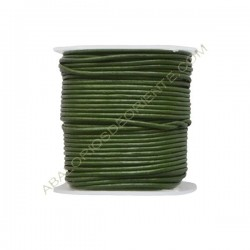 Cuero 1 mm Verde loro 145