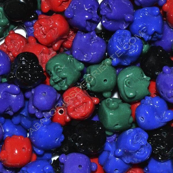 Entrepieza Buda resina colores variados