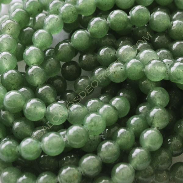 Jade verde bola 4 mm