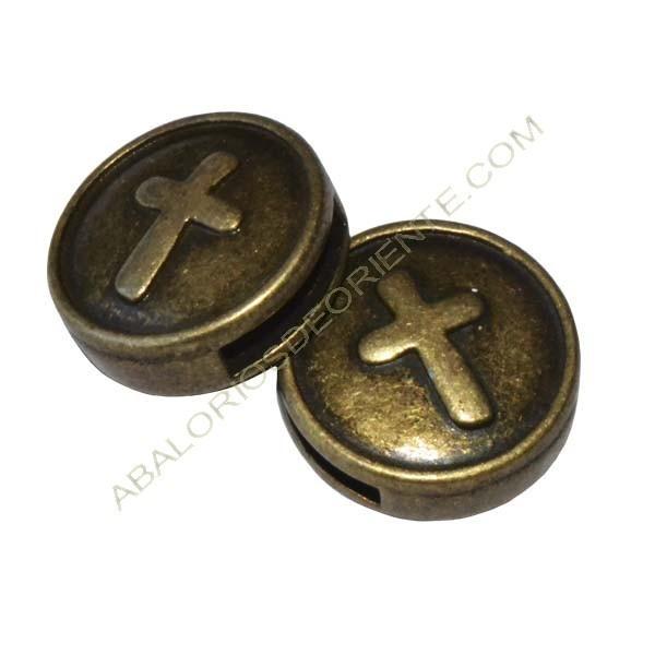 Pasador 11 mm bronce cruz