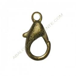 Mosquetón de aleación de Zinc bronce 14 mm