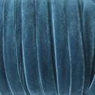 Cinta de terciopelo elástico azul verdoso