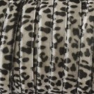 Cinta de terciopelo leopardo gris
