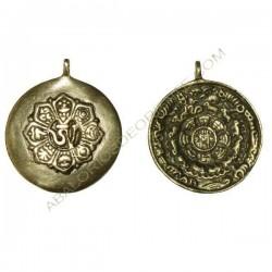 Calendario tibetano doble cara