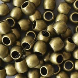 Entrepieza tonel bronce de 8 x 9 mm