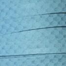Cordón antelina serpiente turquesa