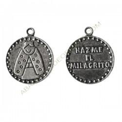 Medallas virgencita 15 mm