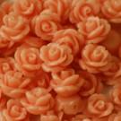 Flor resina coral 8 x 8 mm