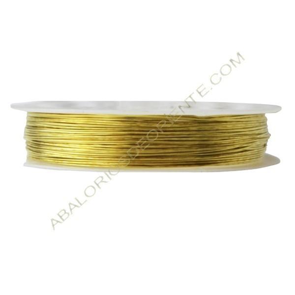 Alambre de Cobre dorado de 0,5 mm