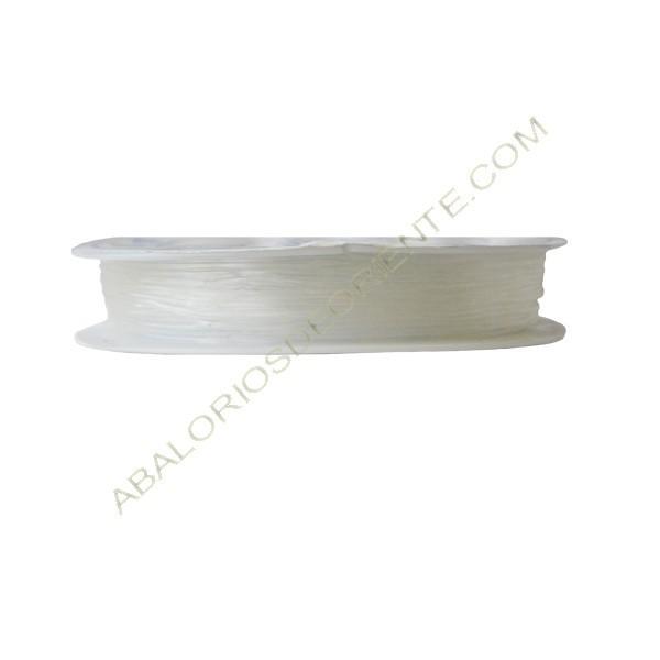 Hilo de cristal elástico de 0,8 mm