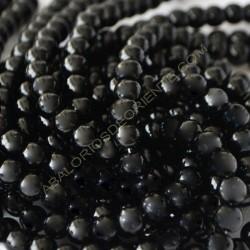 Ónix negro bola de 6 mm