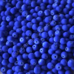 Bola acrílica azul flúor 6 mm