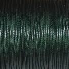 Algodón encerado brillante 2 mm verde botella