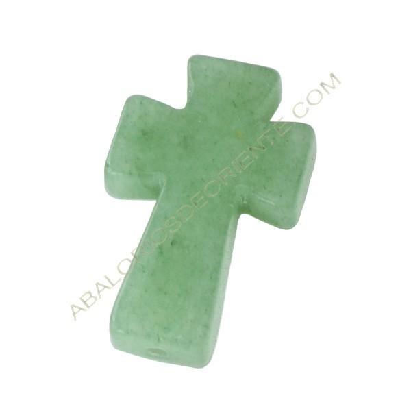 Cruz de Jade verde