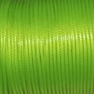Algodón encerado 2 mm verde fluor