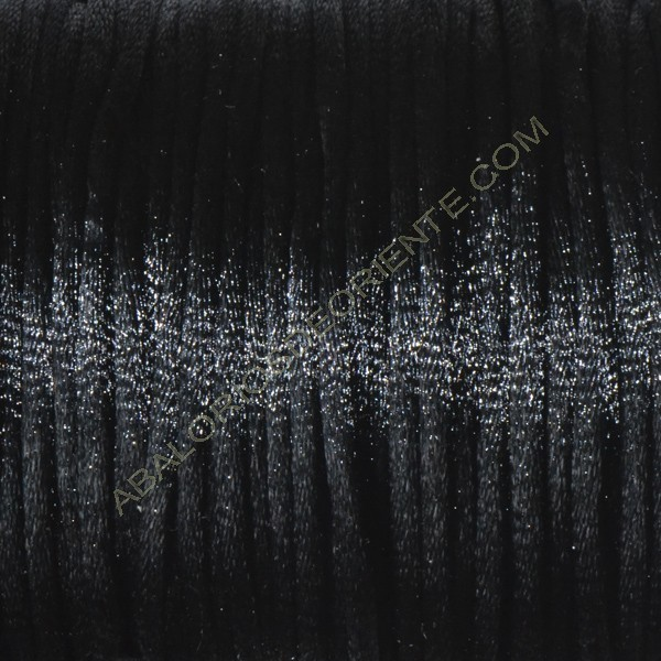 Cola de ratón color negro 2 mm 45 metros