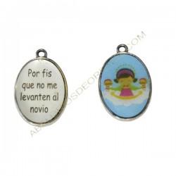 Medallas Virgencita novio