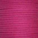 Cordón de ante fucsia 3 x 1.5 mm