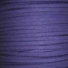 Cordón de antelina morado 3 x 1.5 mm