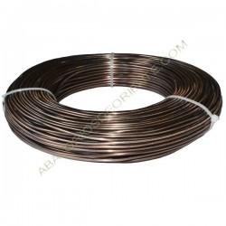 Hilo de aluminio 2 mm bronce