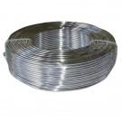 Hilo de aluminio plateado 2 mm