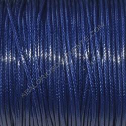 Algodón encerado brillante 1,5 mm azul marino