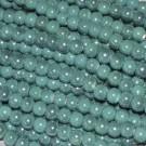 Bola de cerámica titanizada esmeralda de 8 x 8,9 mm.