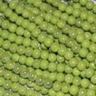 Bola de cerámica titanizada verde de 8 x 8,9 mm.