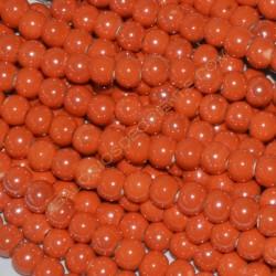 Bola de cerámica titanizada naranja de 8 x 8,9 mm.